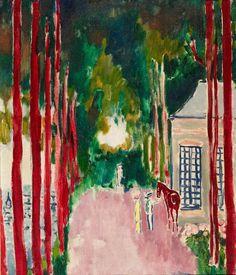 Kees van Dongen (1877-1968)  Pavillon de la Reine (Honfleur), 1912