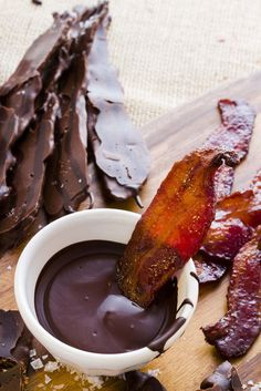 Chocolate Covered Bacon Deliciousness