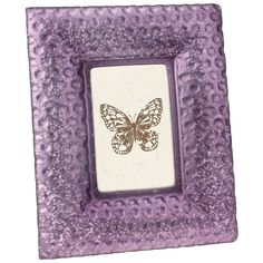 Stonebriar Collection 4'' x 6'' Frosted Frame (64 BAM) ❤ liked on Polyvore featuring home, home decor, frames, purple oth, purple home accessories, purple picture frames, colored frames, purple home decor and colored picture frames