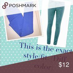 Bright blue skinny jeans! Like new! Worn once Like new Pants Skinny