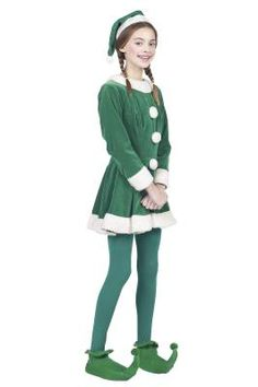 Transforming your little Grinch into an obliging little festive helper might feature on your annual Christmas wish list, but is not easily achieved in a couple of hours. Why not spend an evening sewing up a cute elf costume for her instead? Then pop it on your child and wait for a Christmas miracle!
