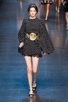 Défile Dolce & Gabbana Prêt-à-porter Printemps-été 2014 - Look 13