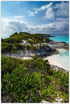 View of Lighthouse Point with adjoining cays in the distance. Located on the southeast tip of the island of Eleuthera, south of Bannerman Town. Eleuthera Bahamas, Bahamas Island, Honeymoon Spots, Beach Bum, Wells, Genealogy, Perfect Place, Lighthouse, Places To See