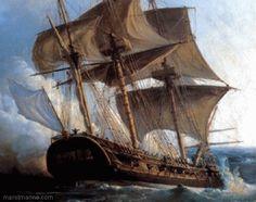 Reconstruction de l'Hermione | Mer et Marine