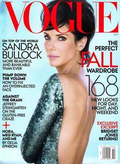 Sandra Bullock Models Marc Jacobs on Her US Vogue October Cover