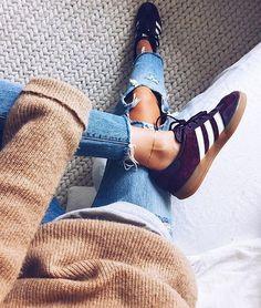 Sneakers femme - Adidas Samba (©lindsaymarcella)