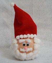 Styrofoam Santa Craft