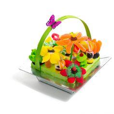 un bouquet de bonbon livraisone n 24h dans son vase en inox