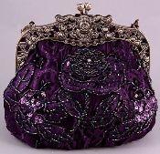 Purple Victorian Purse