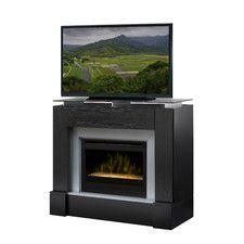 Dimplex GDS33HG-1240TR Gibraltar Electric Fireplace in Travertine ...
