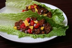 "The Ordinary Vegetarian: Super Veggie Lentil Taco ""Meat"""