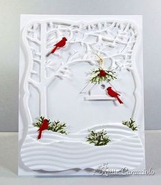 KC Memory Box Orchard Tree Frame 6 center