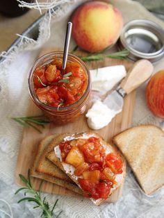 rosemary tomato peach chutney    healthy recipe ideas @xhealthyrecipex  