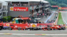 Red Bull RB9 - Ferrari F138 - Sauber C32 - 2013