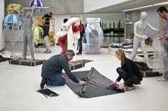 """""""Backstage """"Fabulae Romanae"""" di Lucy + Jorge Orta At MAXXI Museo nazionale delle arti del XXI secolo"""""""