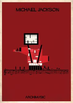 'ARCHIMUSIC', TURNING CLASSIC SONGS INTO BUILDINGS BY ILLUSTRATION