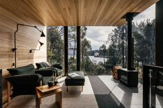 Pumphouse Point Retreat by JAWS Architects.