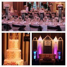 In Love With The Reception Colors Perfect