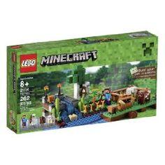 The Lego Minecraft Farm - a great selection of Lego construction sets at Wonderland Models. One of our favourite sets in the Lego Minecraft Range is The Farm set. Lego Minecraft, Minecraft Stuff, Minecraft Gifts, The Farm, Farm 2, Ri Happy, Happy Kids, Lego Creator, Legos