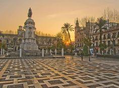 Plaza Nueva. Seville, Spain.