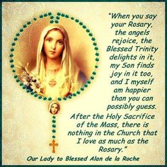 Blessed Mother Mary, Queen of the Holy Rosary. Please continue to bless my children and grandchildren. Keep them protected and safe from harm. Praying The Rosary, Holy Rosary, Rosary Catholic, Catholic Prayers, Catholic Beliefs, Rosary Prayer, God Prayer, Blessed Mother Mary, Blessed Virgin Mary