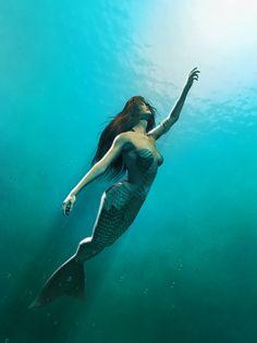 Mermaid to the light