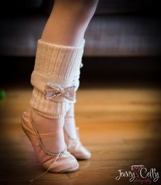 Ballet shoes and the cutest legwarmers