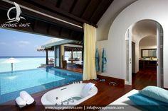 Anantara Kihavah resort, Maldives - your own villa with infinity pool, for more details visit www.voyagewave.com