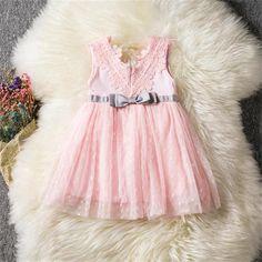c16629a592b472 US $8.99 20% OFF Fairy Baby Girl Doopjurk Voor Doop Bruiloft Kids Meisje  Party Dragen Jurken Baby Princess 1 Jaar Verjaardag Jurk 12 m 24 m in Fairy  Baby ...