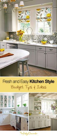 Best Diy Crafts Ideas For Your Home Fresh And Easy Kitchen Style Budget Tips And Ideas