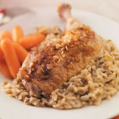 Chicken & Rice Bake. GREAT for Sunday's!