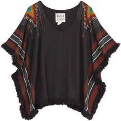 Cozy-chic layering for bonfires,apres ski and beachside cover...Billabong US Womens : good hearted poncho