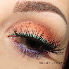 "C H E L S E E M A K E U P on Instagram: ""Heart as cold as ice ❄️ #chelseemakeup #bblogger #makeup #beauty #kokolashes #queenb #morphe35O #loreal #anastasiabeverlyhills #makeupgeekcosmetics #nyxcosmetics #jaclynhillinspired #jaclynhill #iceblue #nyx"""