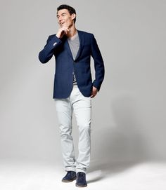 Just bought a pair of light pants like these. May need a good unlined blazer.