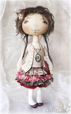 :: Crafty :: Cloth Doll :: YanasToys