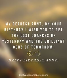 Happy Birthday Auntie Happy Birthday Auntie, Birthday Wishes, Birthday Clips, Pick One, Messages, Sayings, Special Birthday Wishes, Lyrics