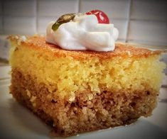Greek Desserts, Greek Recipes, Scones, Cornbread, Vanilla Cake, Banana Bread, Pie, Cooking, Ethnic Recipes