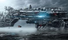 Futuristic Dark Art by Markus Vogt
