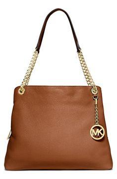 MICHAEL Michael Kors 'Jet Set Chain' Leather Shoulder Bag | Nordstrom