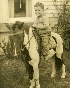 Boy on a Pony.