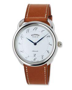 cfc1bad2c71 Acreau TGM Watch with Barenia Leather Strap Luxury Watches