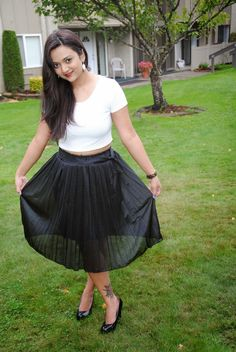 How to Style a Skirt ! | Ananya Tales
