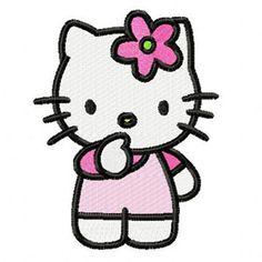 3f41a3e27 Hello Kitty I think machine embroidery design. Machine embroidery design.  www.embroideres.
