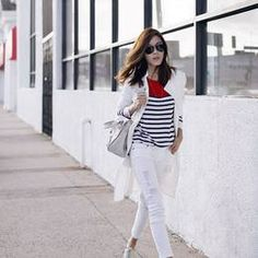 Stripe Accent Outfit