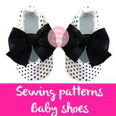 Baby shoes patterns, ballerina digital patterns, pdf pattens ,girl shoes, maternity gift, pregnancy, kids patternss, children patterns by KidsSewingPatterns on Etsy