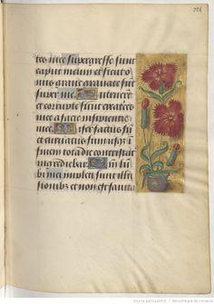 Livre d'heures, en latin et en français, à l'usage de Cambray | Gallica