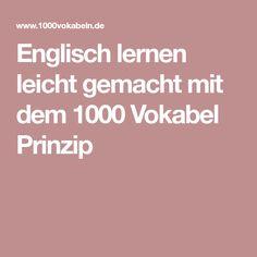 Englisch lernen leicht gemacht mit dem 1000 Vokabel Prinzip