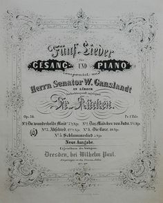 Lubeck Sheet Music by russ2243, via Flickr