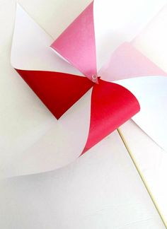 Simple Steps to Make a Paper Pinwheel
