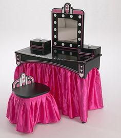 My DIY little girls vanity turned out great My DIY Pinterest